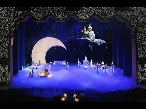 HD 2015 Disneys Aladdin: A Musical Spectacular California Adventure 1080p 60fps Full Show