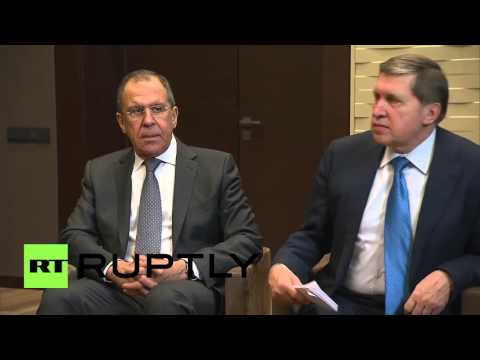 Russia: Putin meets with King of Bahrain in Sochi