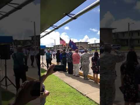 Tiyan High School AFJROTC Veterans Day SY:2018-2019