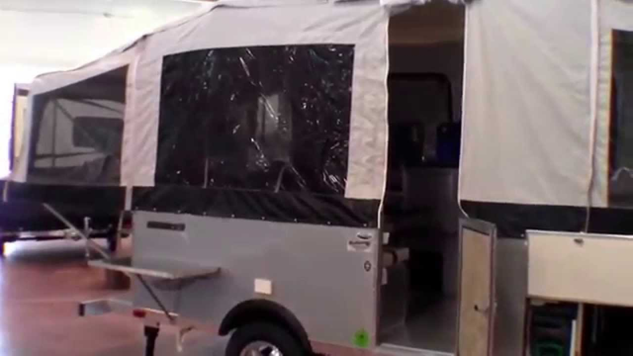 2015 Quicksilver 14XLP tent camper with toliet and A/C under 1,500 pounds!