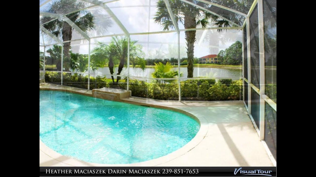10536 bella vista dr lakefront pool home pelican for 8 ft garden pool