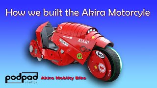 How we built the Akira Motorcycle (Kaneda's Bike). Riding the Akira bike /mobility scooter