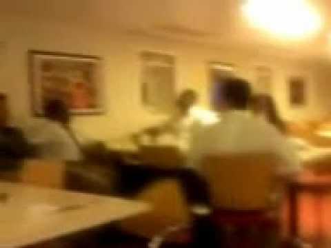 MSC MUSICA NO CREW MESS NOS MESES DE FEVEREIRO A ABRIL DE 2012