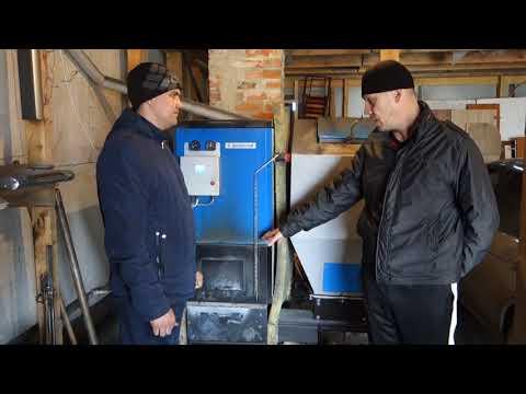 Опыт эксплуатации автоматизированного котла Прометей 20 кВт