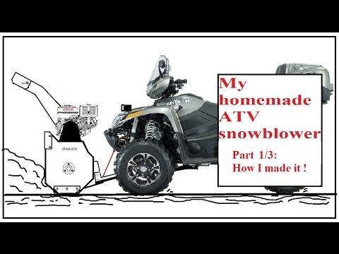 Quadivator Inc  ATV Snow Blower