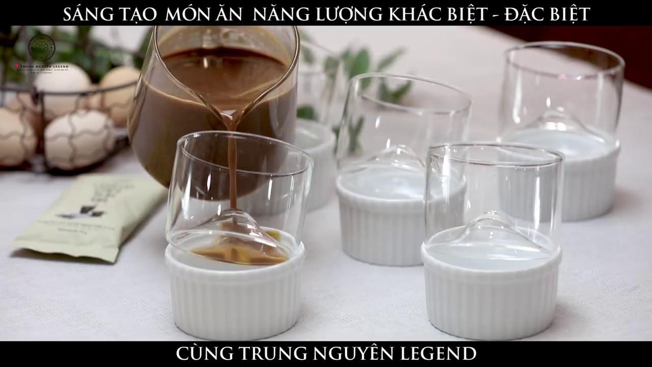 Chia sẻ năng lượng ngọt ngào với Pudding Legend cà phê sữa đá