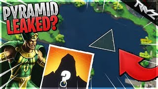 PYRAMID IN LOOT LAKE! NEW HIDDEN PHARAOH SKIN RUMOR AND EVIDENCE! (Fortnite BR Season 5 Secret)
