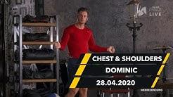 Brust & Schulter Workout - Dominic   28.04.  McFIT   The Big Pump