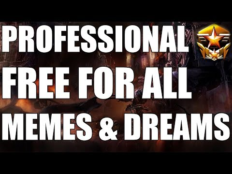 PROFESSIONAL FREE FOR ALL | MEMES & DREAMS (ft. Scarlett, Elazer, Solar, Zanster & 4 More!)