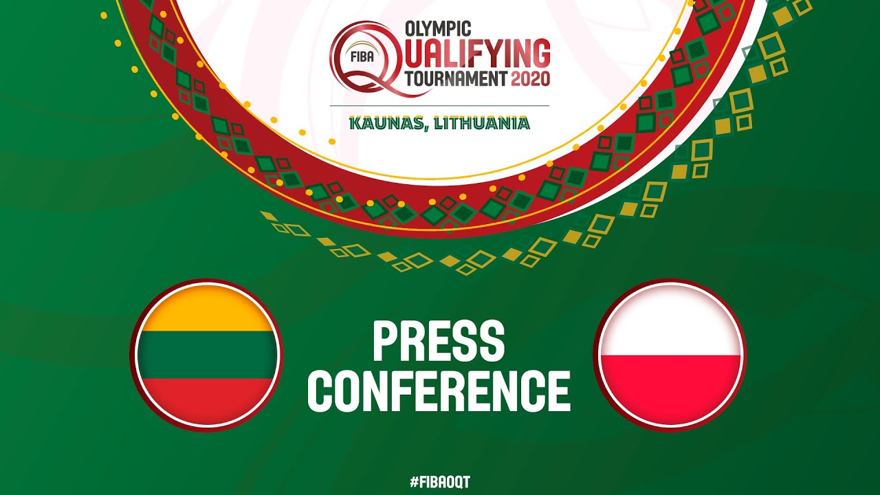 Lithuania v Poland Semi Final - Press Conference