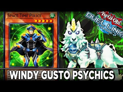 Windy Gusto Psychic Deck! YuGiOh Duel Links PVP
