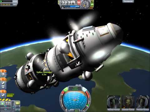 KSP - Removing Debris From LKO Without a Docking Clamp