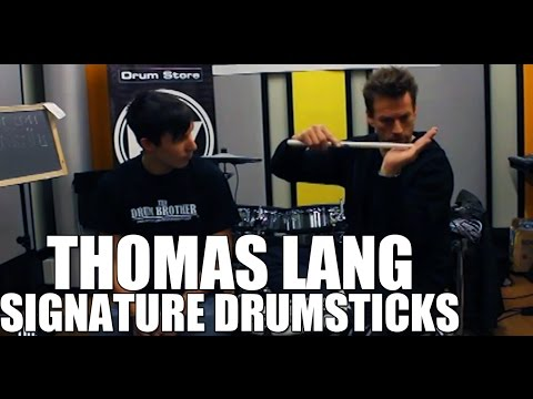 Thomas Lang - 'Vic Firth Signature Drumsticks' drum interview