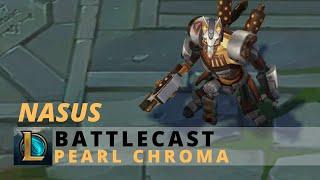 Battlecast Nasus Pearl Chroma - League Of Legends