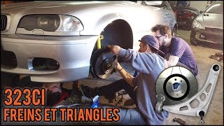 [BMW 323ci E46] EP2 - Freins et triangles
