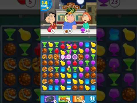Family Guy - Another Freakin Mobile Game - Level 34 - No Boosters (by Match3news.com)