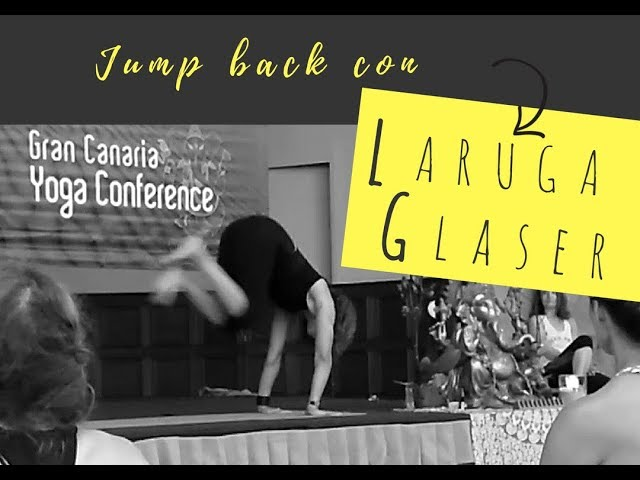 Jump back con Laruga Glaser