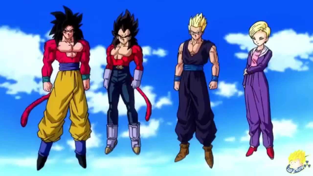 Dragon ball heroes opening gohan super saiyan 4 youtube - Dragon ball gohan super saiyan 4 ...