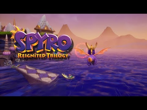 Spyro Reignited Trilogy - Ocean Speedway & Warm up the Crowd Trophy - (PS4/Xbox One)