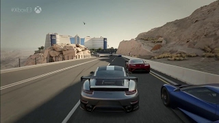 Forza Motorsport 7 First Look Xbox One X Gameplay - E3 2017: Microsoft Conference