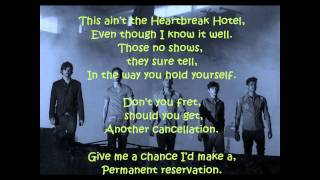 The Wanted - Heart Vacancy Lyrics