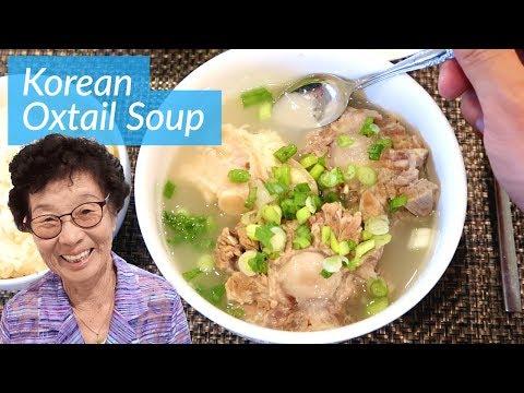 Grandma's Special: Korean Oxtail Soup (Kkori Gomtang)