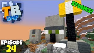 Truly Bedrock Episode 24! New Raid Shop, And STONKS! Minecraft Bedrock Survival Let's Play!