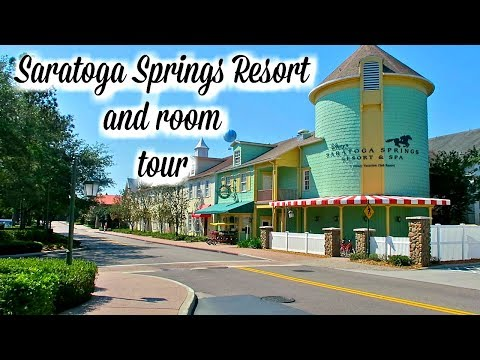 Disney's Saratoga Springs Resort and Room tour