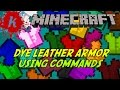 Minecraft | Tutorial - How to get Coloured Armour using /give | [1.7.2]
