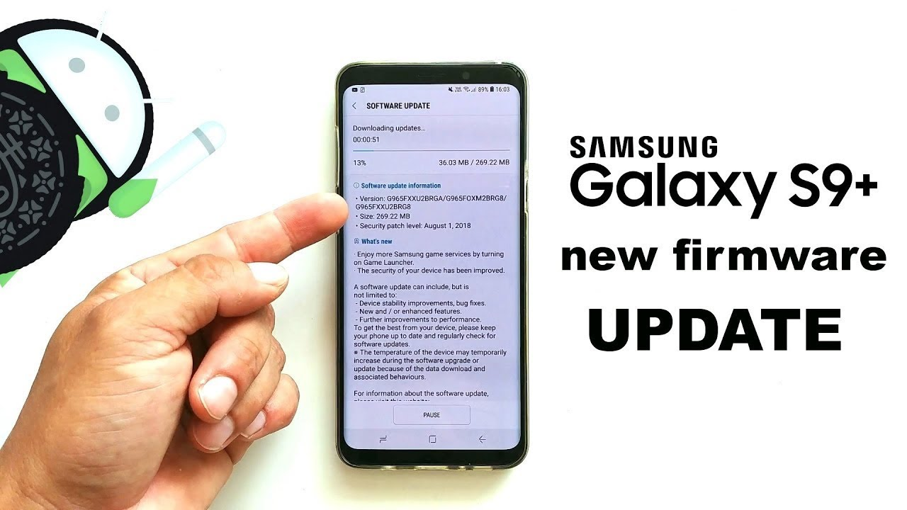 S9 Update Android 10