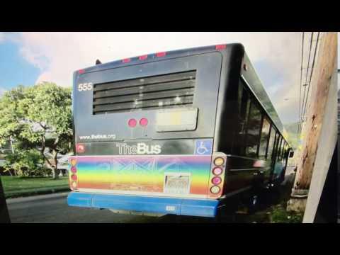 TheBus Honolulu 2003 Gillig Advantage #555 Route 6 Picture