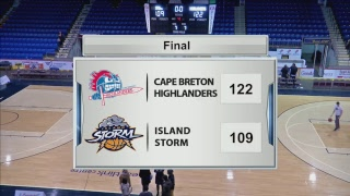 Cape Breton Highlanders vs Island Storm | Nov 18th, 2018 | NBL Canada