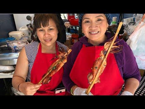 ចូលឆ្នាំខ្មែរនៅទីក្រុង Stockton California USA Khmer Food New Year 2019-Khmer Food-