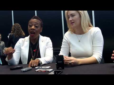 BLINDSPOT's Marianne Jean-Baptiste & Ashley Johnson NYCC 2015