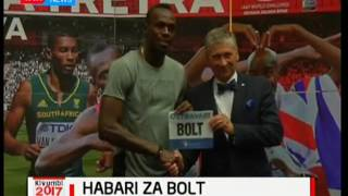 Usain Bolt atarajia kustaafu baada ya mashindano ya dunia mwakani