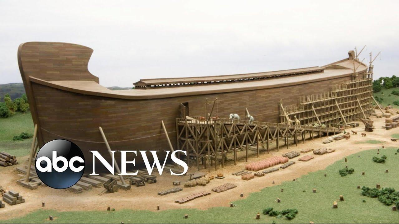 noah u0027s ark comes to life in kentucky youtube