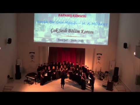 Küçük Bir Gece Müziği (W. A. MOZART) - Adıyaman Güzel Sanatlar Lisesi Çok Sesli Bölüm Korosu