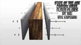 Allied Steel NYC Flitch Beam Flitch Plates Video