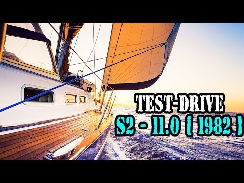 Test Drive Yacht — S2 - 11.0  1982 year . Sailing Boat for 18 000 $