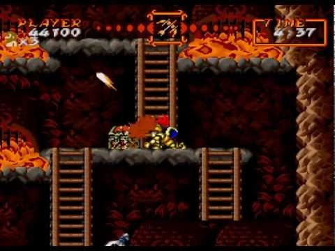 Super Ghouls And Ghosts Playthrough
