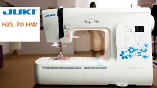 Class 51:How to use Computerized home sewing machine JUKI HZL-70HW