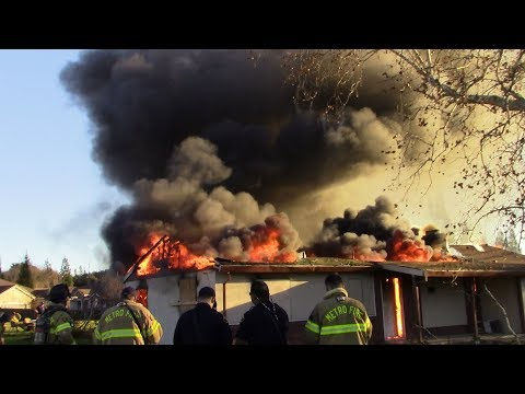 Structure Fire Training - Sacramento Metro Fire District