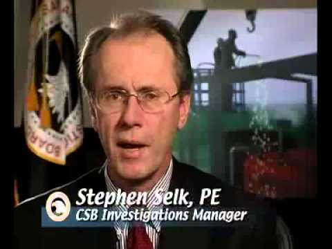 CSB Safety Video - Public Worker Safety Wastewater Plant Explosion