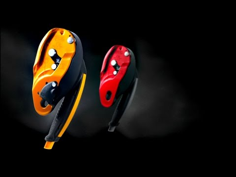 I'D - Self-braking Descender For Rescue With Anti-panic Function - Petzl