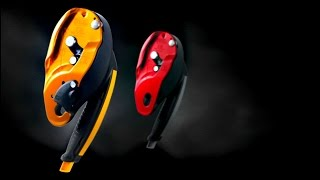 Self-braking descender for rescue, with anti-panic function and no ...