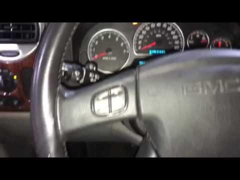 Chevrolet Envoy Oil Life Reset Youtube