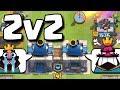 ON EXPLOSE TOUT EN 2VS2 -- Clash Royale -- teambarbu