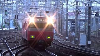 【到着】名鉄名古屋本線 6500系 普通金山行き 金山駅