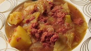 Galui's Easy Corned Beef & Cabbage
