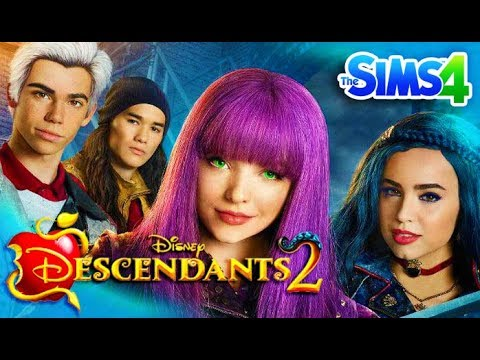 DESCENDANTS 2 - Sims 4 Create a Sim | Disney's Descendants